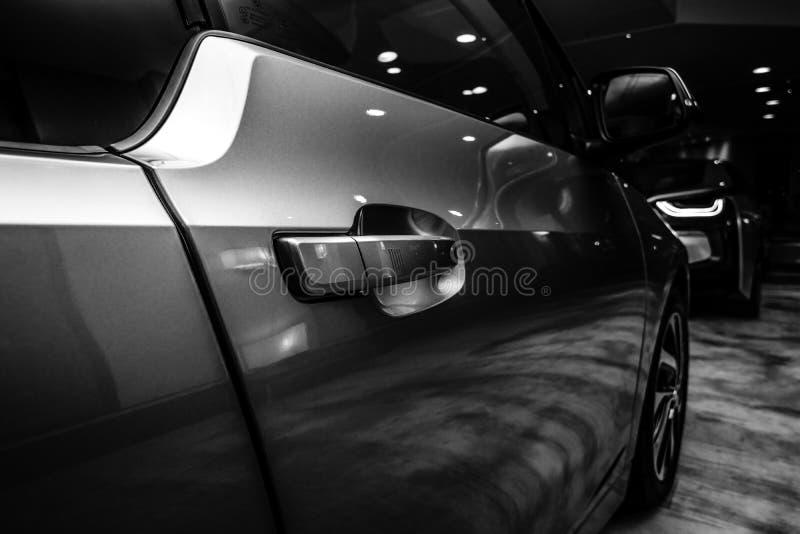 Un fragment de BMW i3 image stock