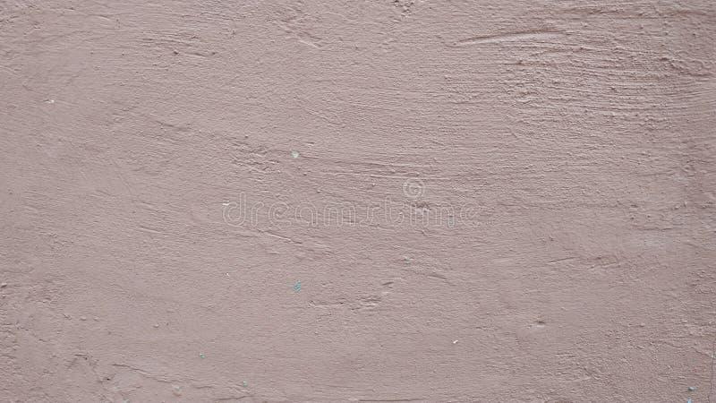 Un frammento di una parete coperta di stucco e dipinta in grigio Primo piano fotografie stock