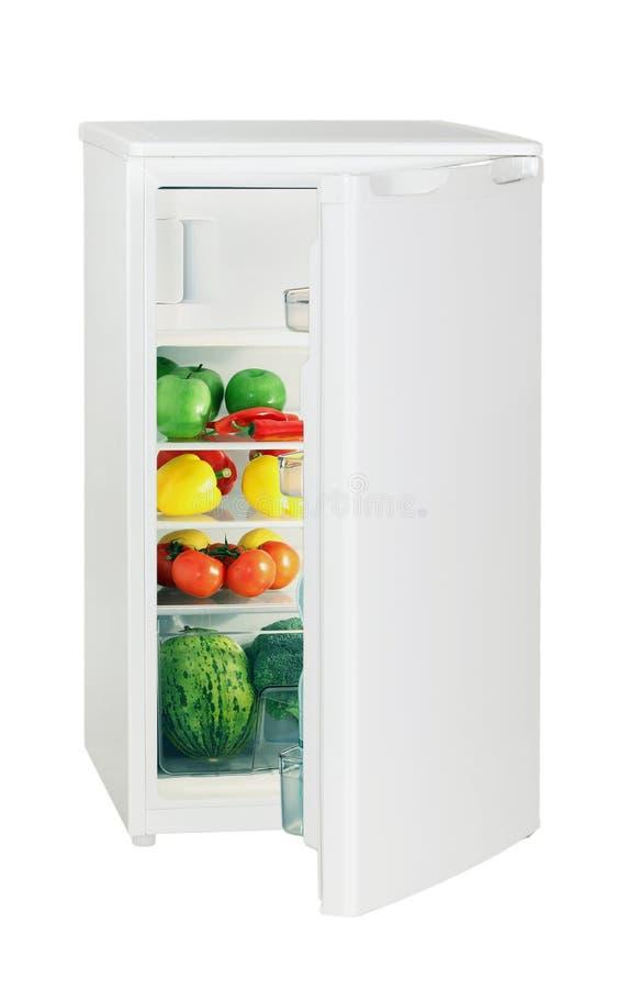 Un frigorifero del portello fotografia stock