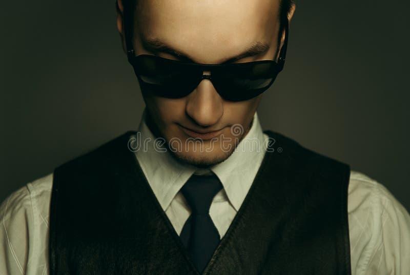 Un gángster fotografía de archivo libre de regalías