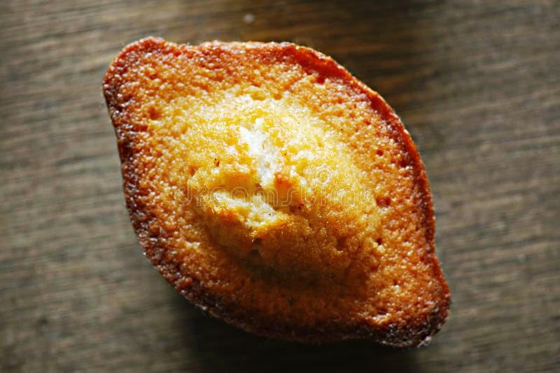 Un gâteau de Madeleine photographie stock libre de droits