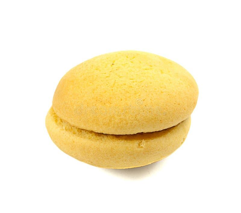 Un gâteau mousseline images stock