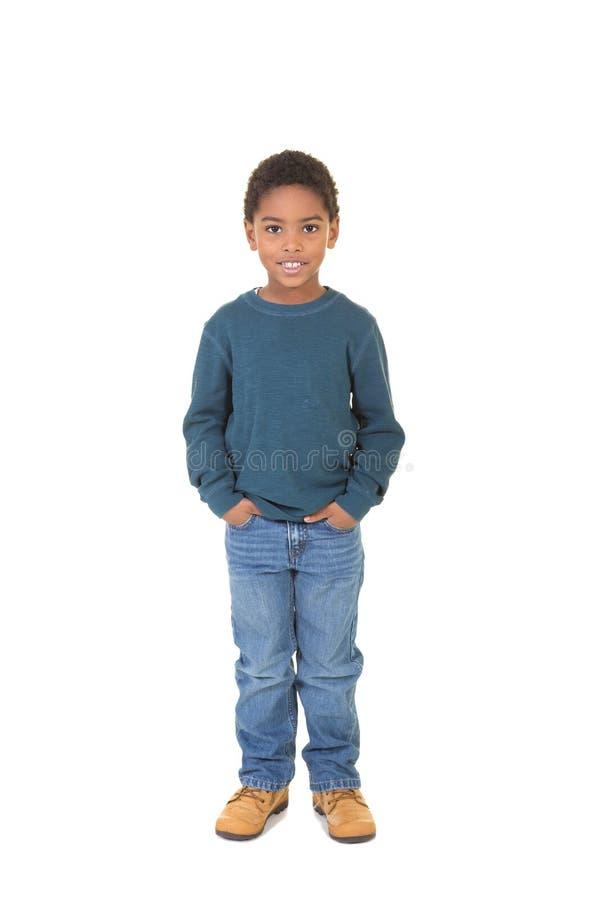 Un garçon âgé par école mignonne photos stock