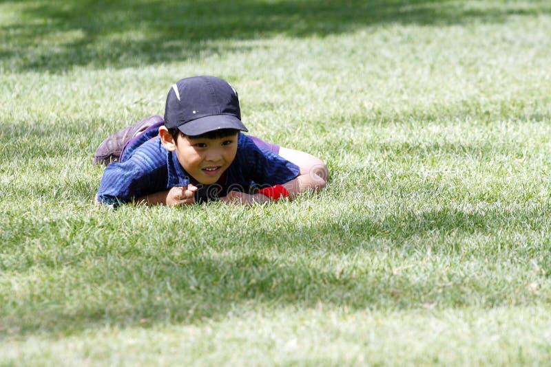 Un garçon vilain photographie stock libre de droits