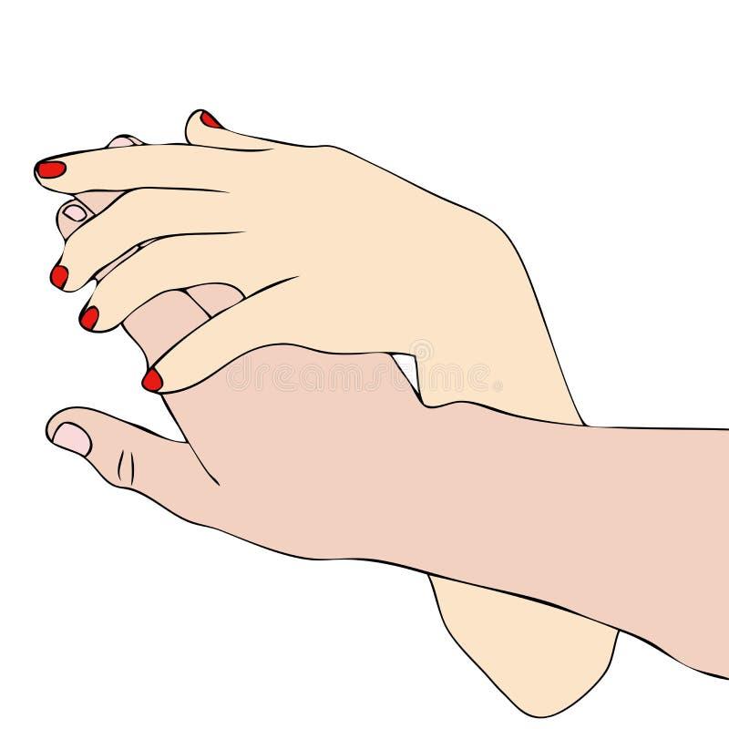 Un gesto del afecto libre illustration