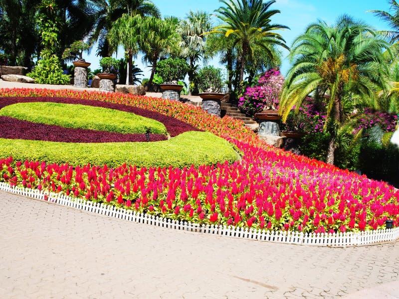 Un giardino convenzionale fotografie stock
