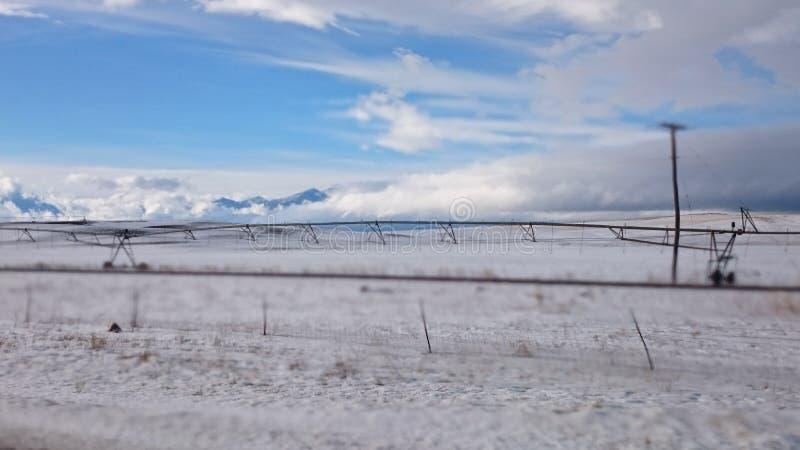 Un giorno freddo nell'Utah fotografia stock libera da diritti