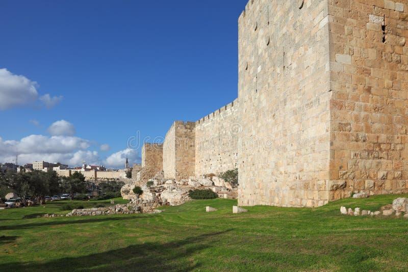 Un giorno a Gerusalemme fotografie stock libere da diritti