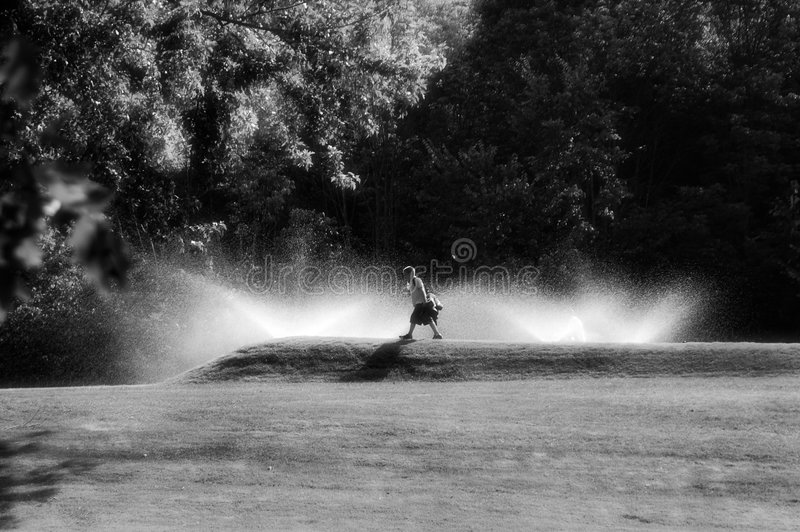 Un giorno a golf immagine stock libera da diritti