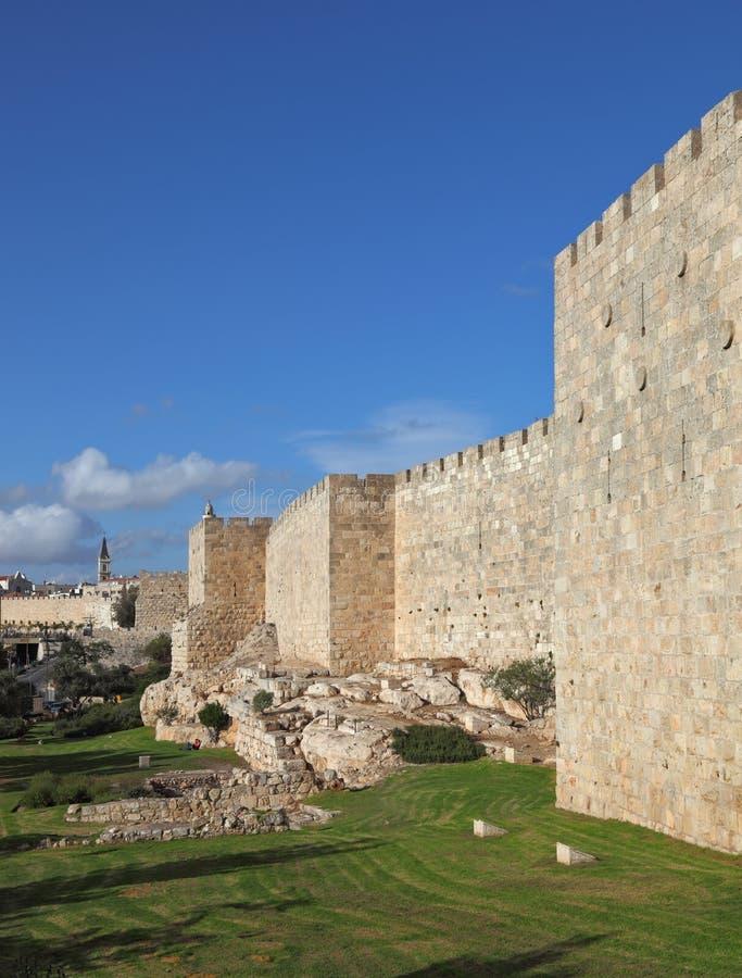 Un giorno pieno di sole a Gerusalemme immagini stock libere da diritti