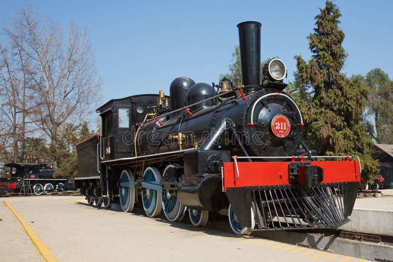 Un gran tren de trabajo viejo del vapor fotos de archivo