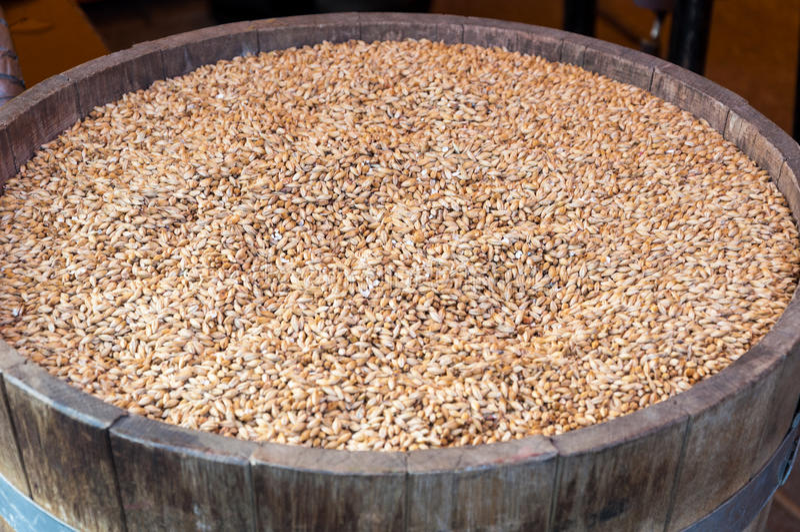 Baril de grains image stock