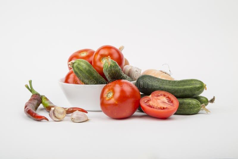 Un grand choix de légumes photographie stock libre de droits