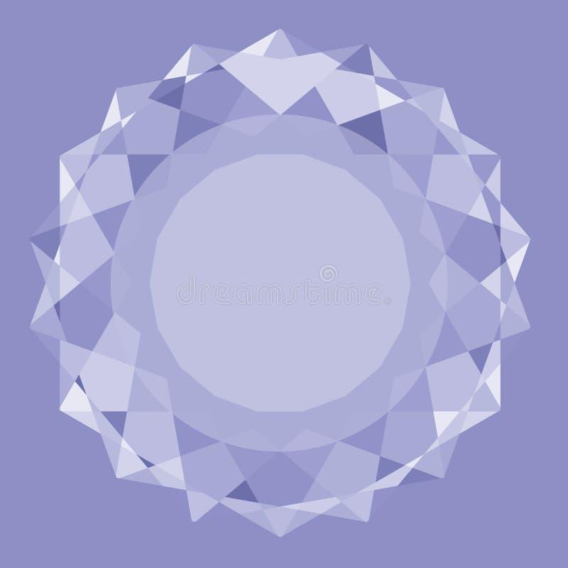 Un grand diamant illustration libre de droits