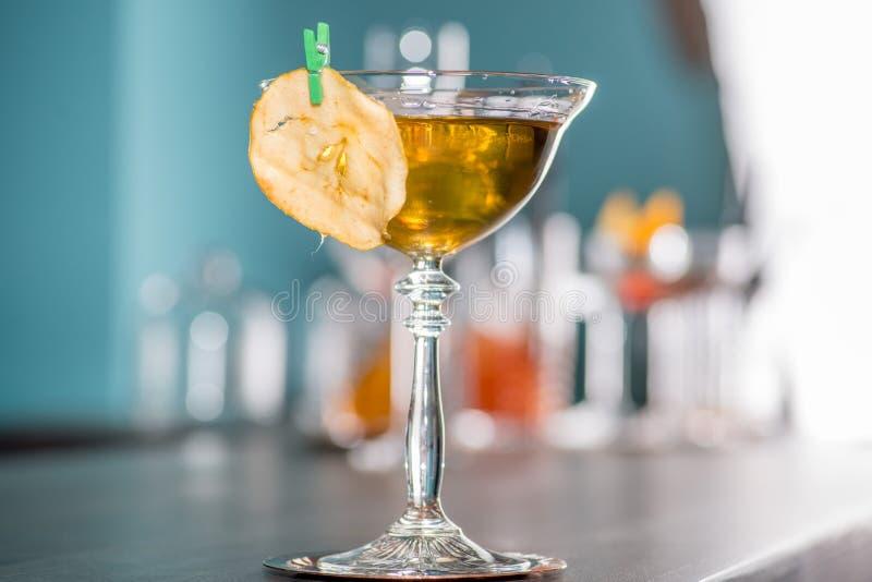 Un grande cocktail immagini stock libere da diritti