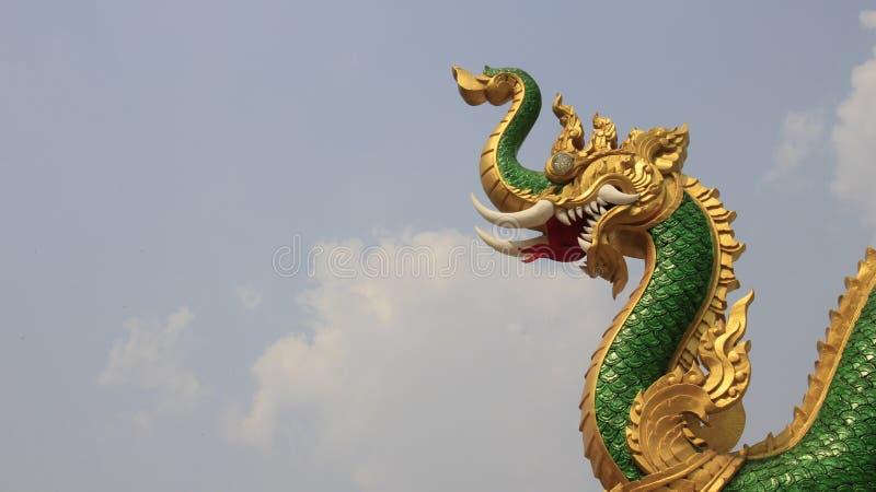 Un grande Naga immagini stock