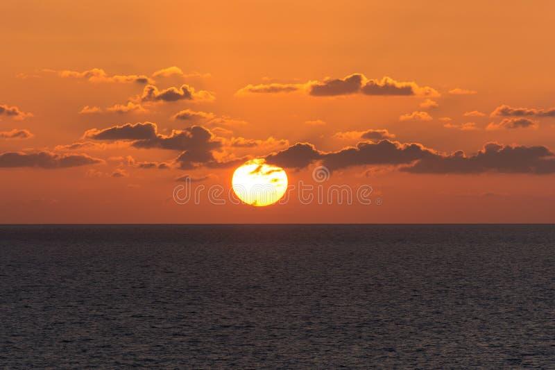 Un grande sole del foro immagine stock