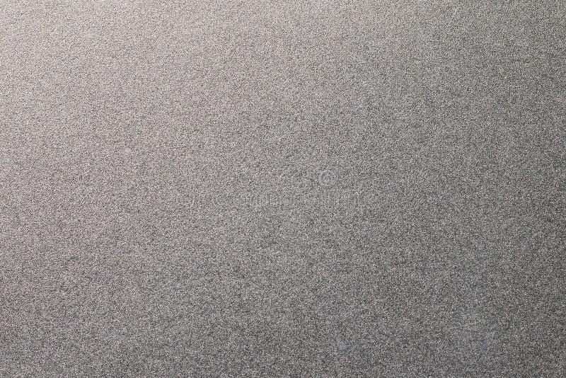 Un granuloso del fondo de la textura del metal Material de acero inoxidable fotos de archivo