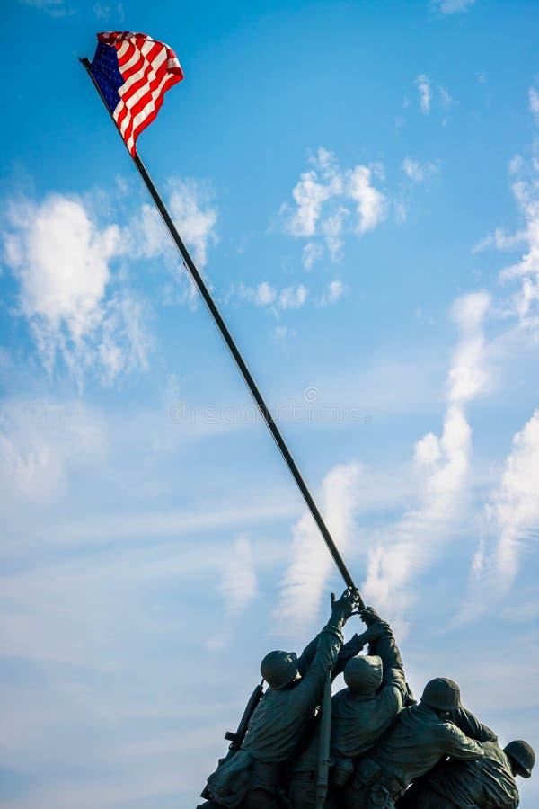 Un groupe colossal de sculpture de bravoure impérissable dans Harlingen, le Texas photos libres de droits