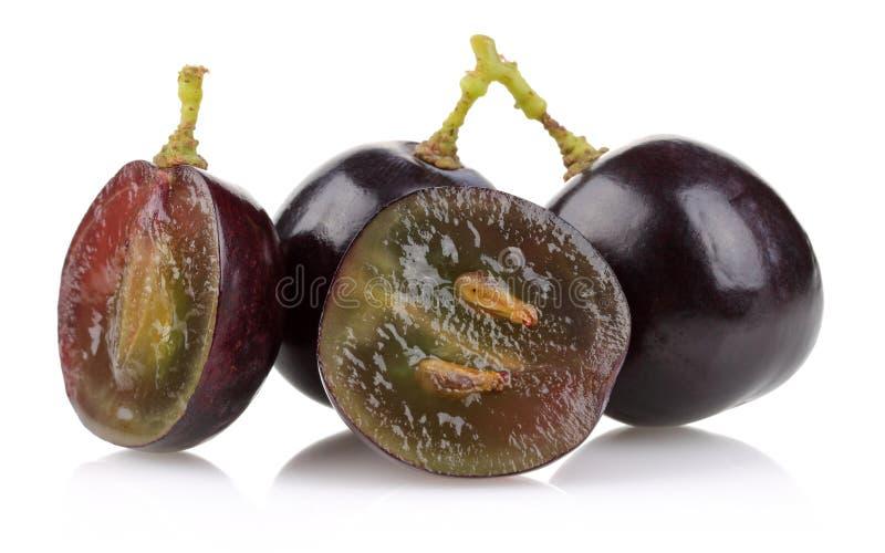 Un groupe de raisins noirs photos libres de droits