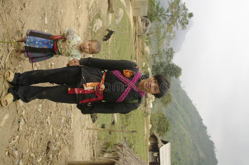Un grupo étnico del La de Phu del padre fotos de archivo libres de regalías