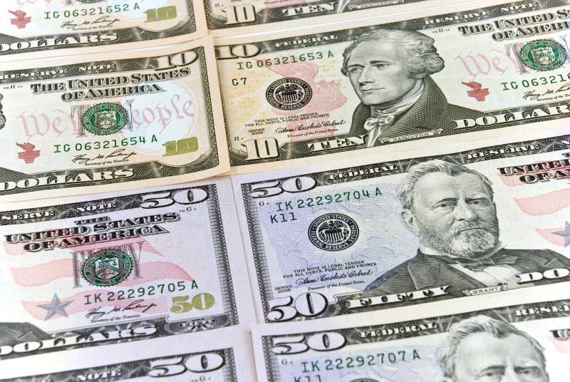 Download Un Grupo De Dólares Americanos - En El Backgro Blanco Imagen de archivo - Imagen de financiero, marrón: 7151073