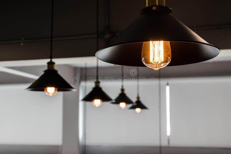 Un grupo de luces de la ejecución imagenes de archivo