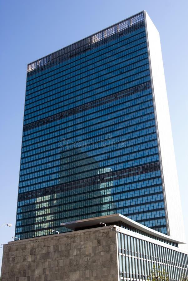 UN Headquarters - Manhattan, New York stock photo