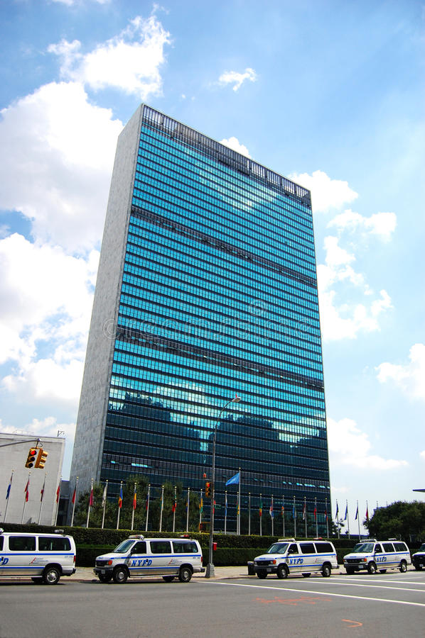 Download UN Headquarters In New York City Editorial Photo - Image: 15675076