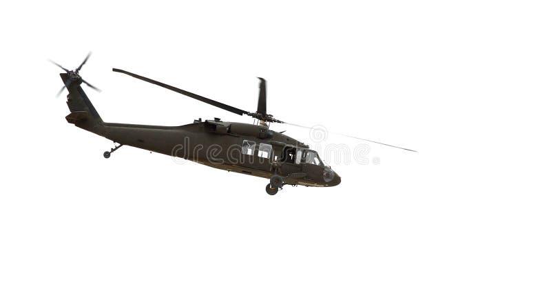 Un helicóptero fotografía de archivo libre de regalías