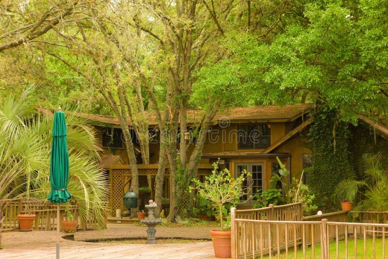 Un hogar precioso en la Florida fotos de archivo libres de regalías