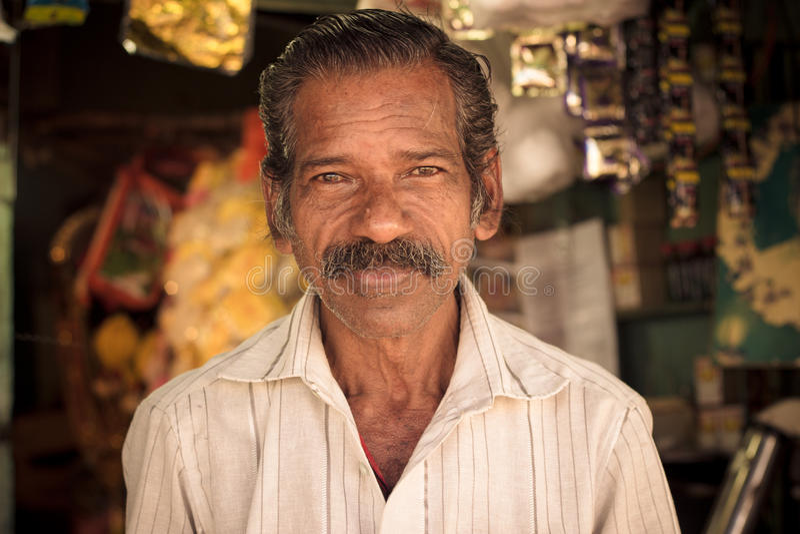Un hombre común fotos de archivo