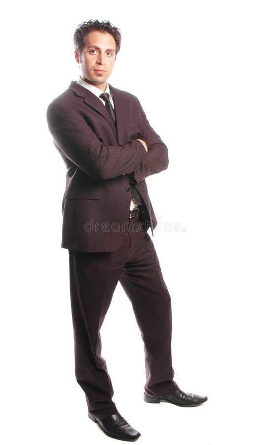 Un hombre de negocios imagen de archivo libre de regalías