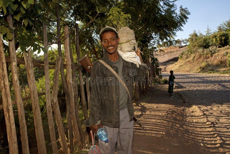 Un hombre etíope foto de archivo libre de regalías