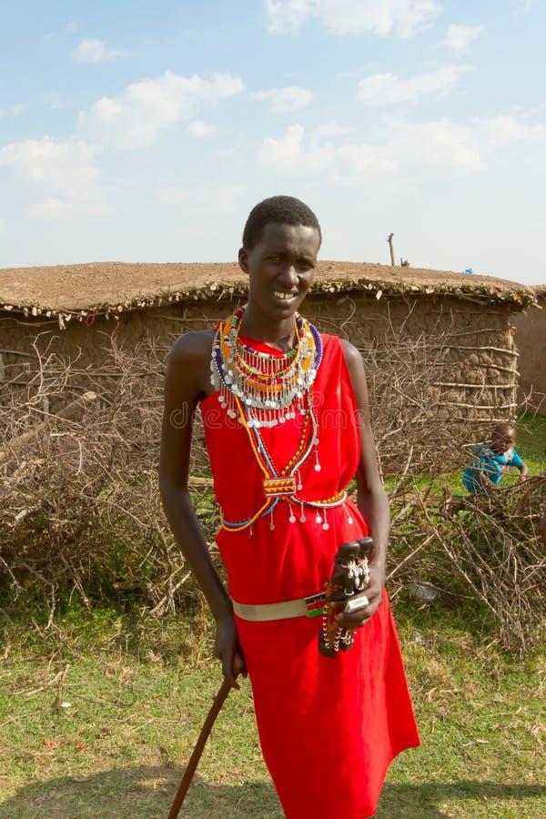 Un hombre joven del kenyan fotos de archivo libres de regalías