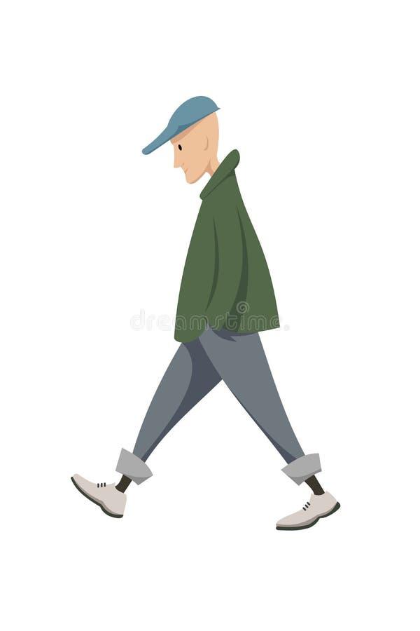 Un hombre joven libre illustration