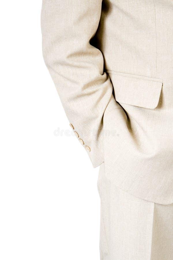 Un homme d'affaires dans un procès   photos stock