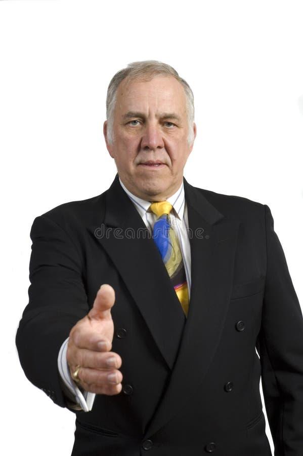 Un homme d'affaires plus âgé photographie stock libre de droits