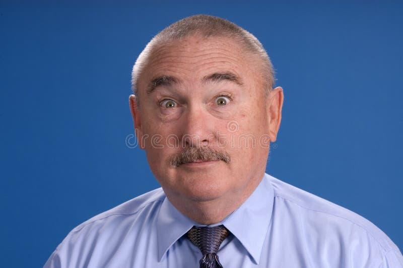 Un homme d'affaires plus âgé de chéri-boomer photographie stock