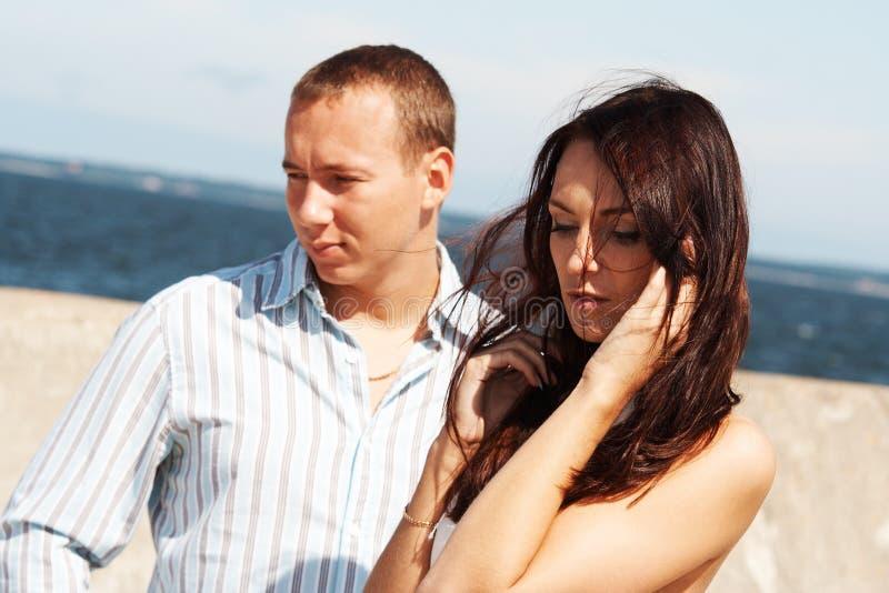 Un homme et un femme images stock