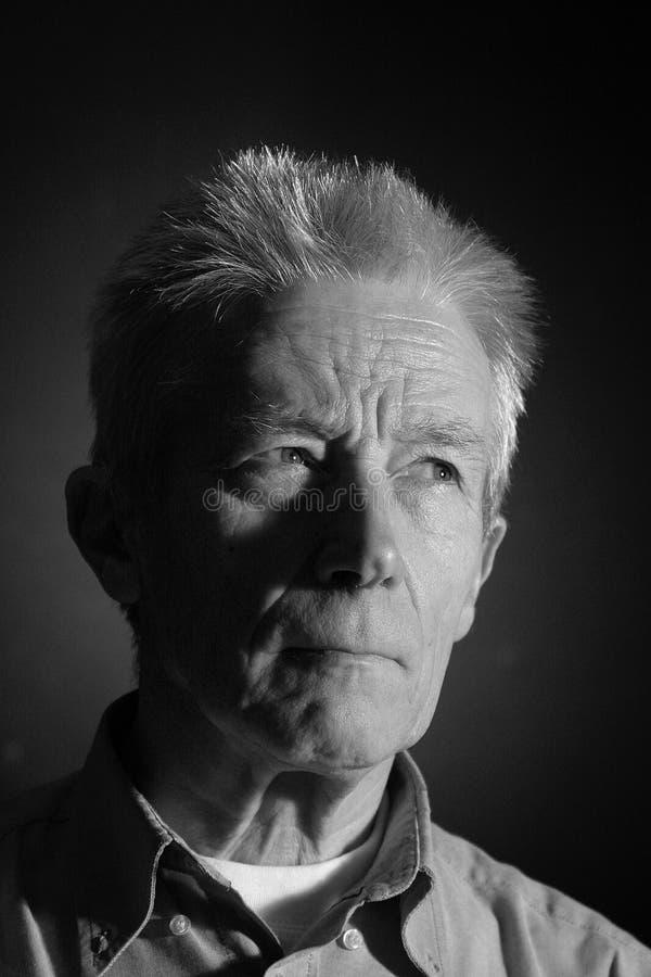 Un homme plus âgé photo stock