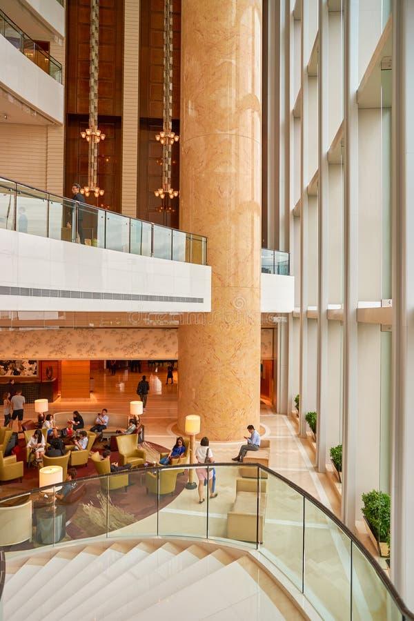 Un hotel hong kong lobby di quattro stagioni fotografia for Piccoli piani di costruzione dell hotel