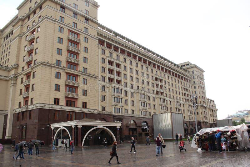 Un hotel Mosca di quattro stagioni 5 stelle fotografia stock libera da diritti