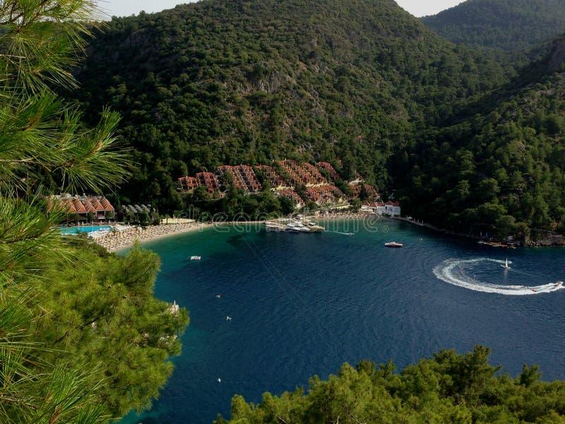 Un hotel turco fotografía de archivo