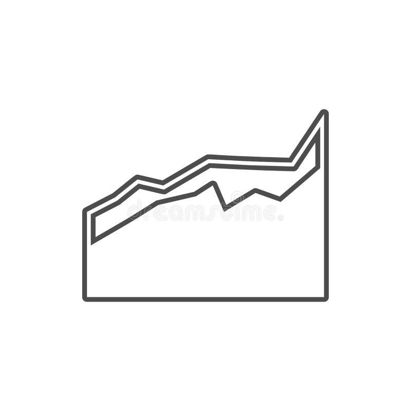 un icono comparativo del diagrama Elemento de la seguridad cibernética para el concepto y el icono móviles de los apps de la web  ilustración del vector