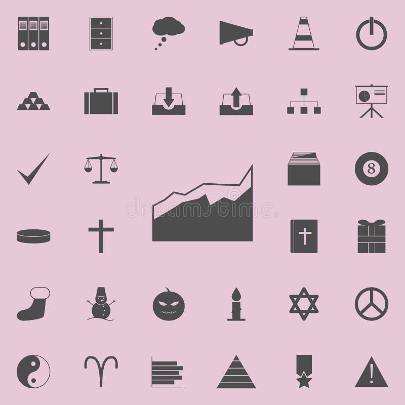 un icono comparativo del diagrama Sistema detallado de iconos minimalistic Muestra superior del diseño gráfico de la calidad Uno  libre illustration