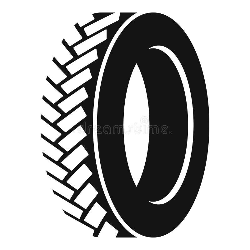 Un icono del neumático, estilo simple libre illustration
