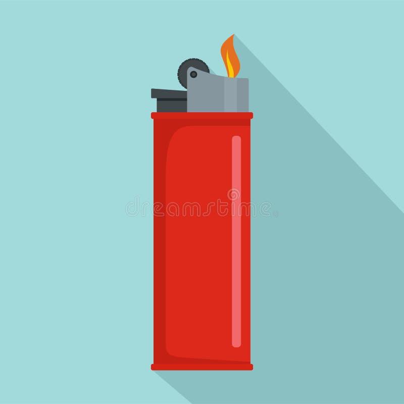 Un icono más ligero, estilo plano stock de ilustración