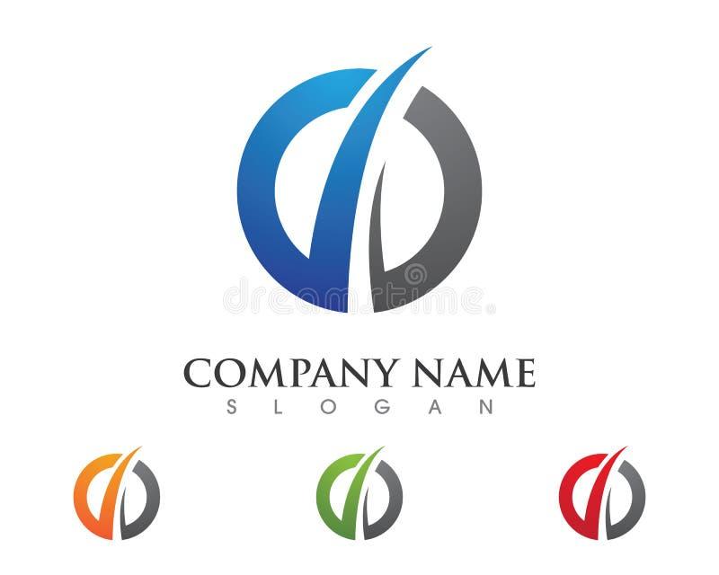Un icono más rápido de Logo Template ilustración del vector