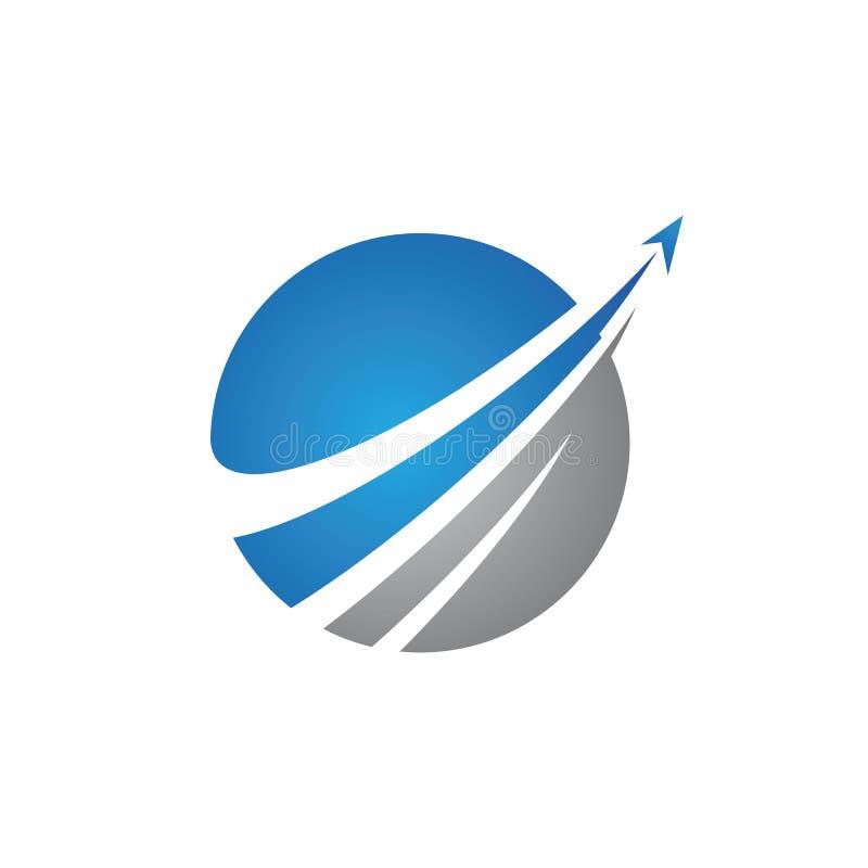 Un icono m?s r?pido del vector de Logo Template ilustración del vector